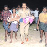 IGP carrying a boy